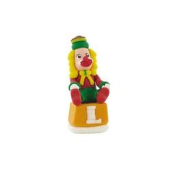 Clown sur un cube en sucre
