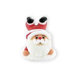Père Noël en sucre 3D à plat ventre