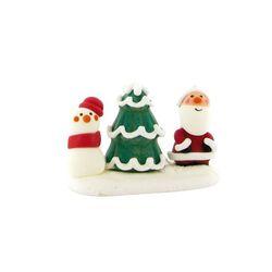 Décor comestible Sapin et sujet de Noël