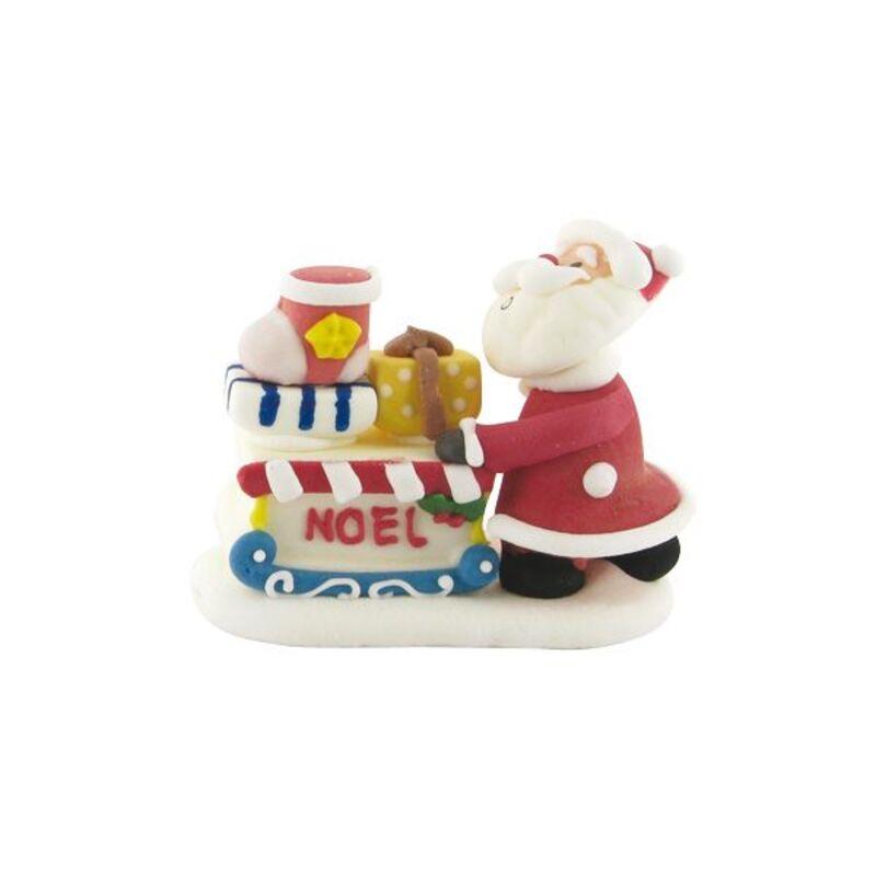 Père Noël et sa hotte en sucre