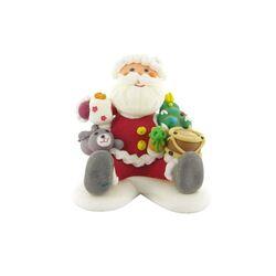 Père Noël assis en sucre