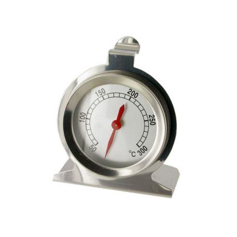 Thermomètre de cuisine à cadran en inox +50+300°C