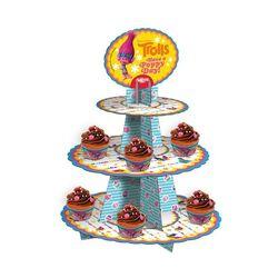 Présentoir cupcakes Les Trolls