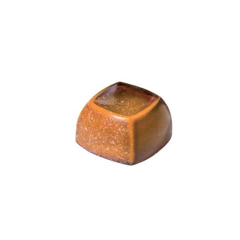 Moule chocolat pralinés carrés creusés