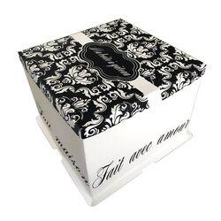 Boîte à gâteau arabesques Gatodéco