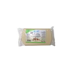 Pâte d'amande décor blanche Marguerite 1 Kg