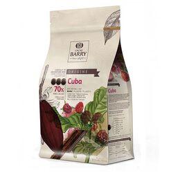 Chocolat de Couverture Noir origine Cuba 1 Kg