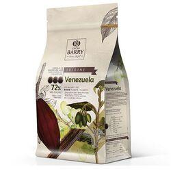 Chocolat de Couverture Noir Venezuela 75% 2,5 Kg
