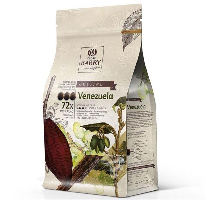 Chocolat de Couverture Noir Venezuela 2,5 Kg