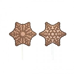 Moule Chocolat Sucettes Flocons