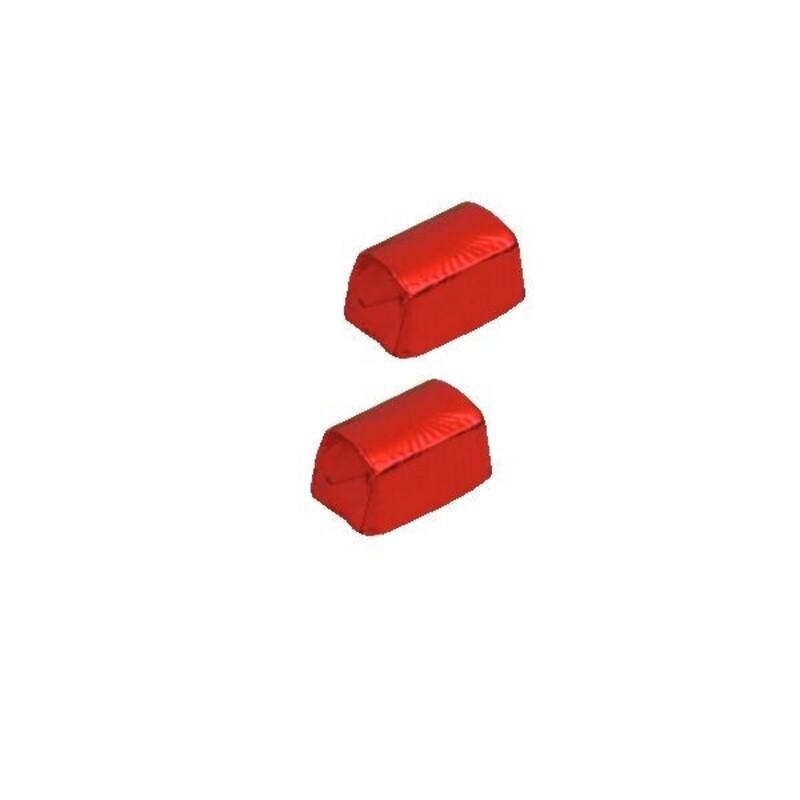 Carrés alu rouge 8 cm (x1000)