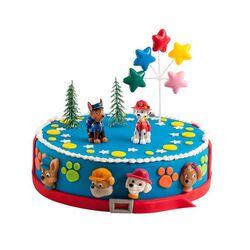 Kit Décor gâteau Pat Patrouille