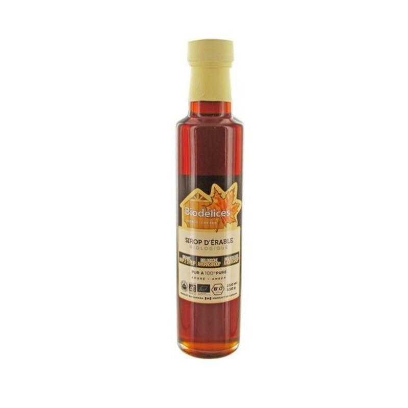 Sirop d'érable biologique 250 ml
