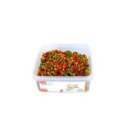 Macédoine de fruits confits en cubes 1 Kg