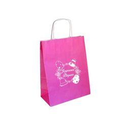 Sac cabas Joyeuses Pâques rose (x25)