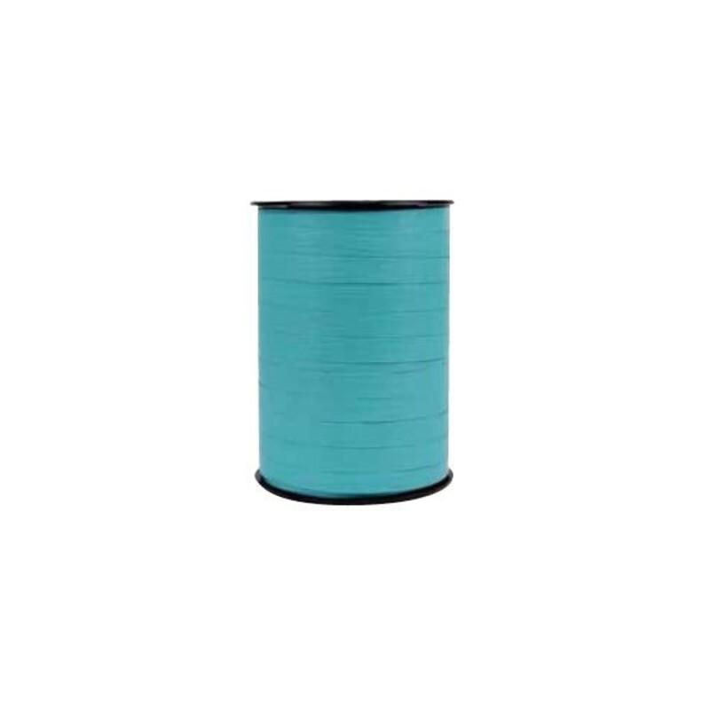 Bolduc bicolore Turquoise / Chocolat 10mm (250 m)