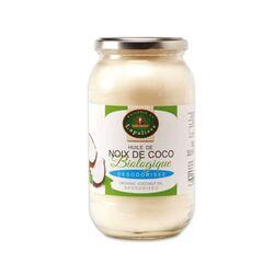 Huile vierge de noix de coco biologique désodorisée 1L