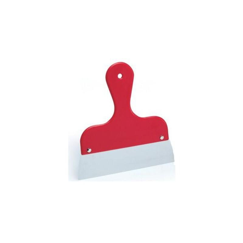 Racloir lame inox manche rouge 25 cm