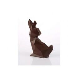 Moule chocolat lapin origami 11 cm