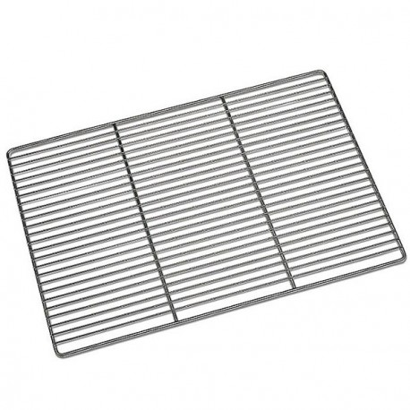 Grille plate inox renforcée 60 x 40 cm