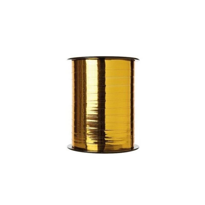 Bolduc miroir Or largeur 7,5mm (250 m)