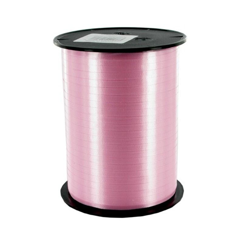 Bolduc satiné rose pastel 4mm (1000 m)