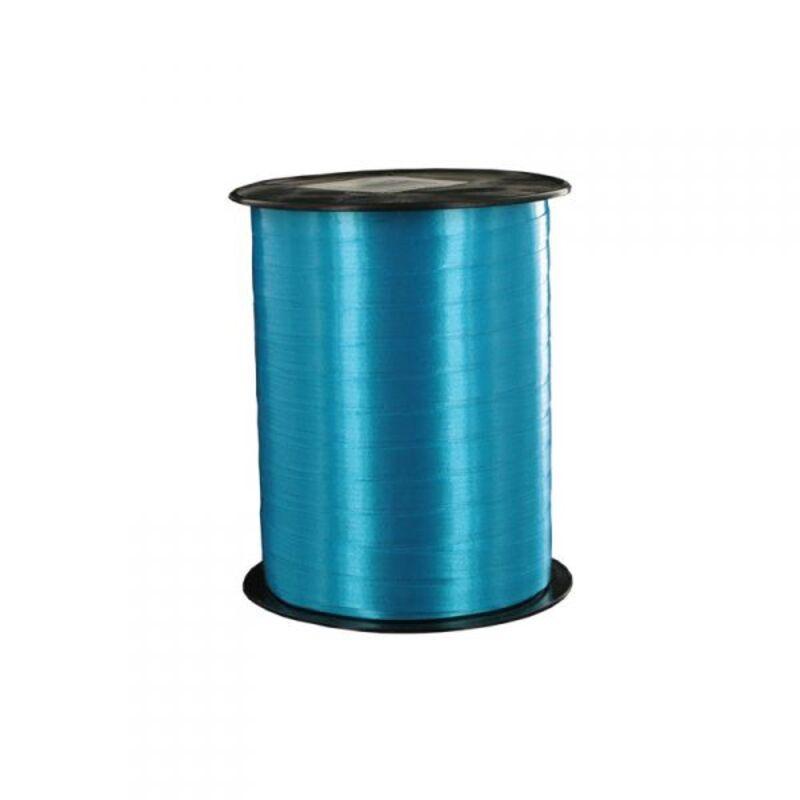 Bolduc satiné bleu 5 mm (500 m)