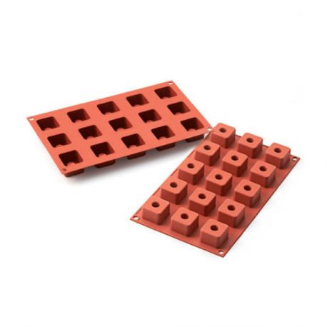 Moule silicone 6 sushis squares