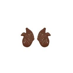 Moule à chocolat jetable cygne