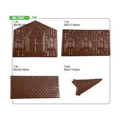 Moule chocolat PVC église