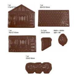 Moule chocolat PVC chalet