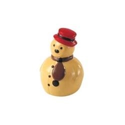 Moule chocolat Bonhomme de neige 3D