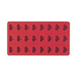 Moule silicone 24 pâtes de fruits coeurs