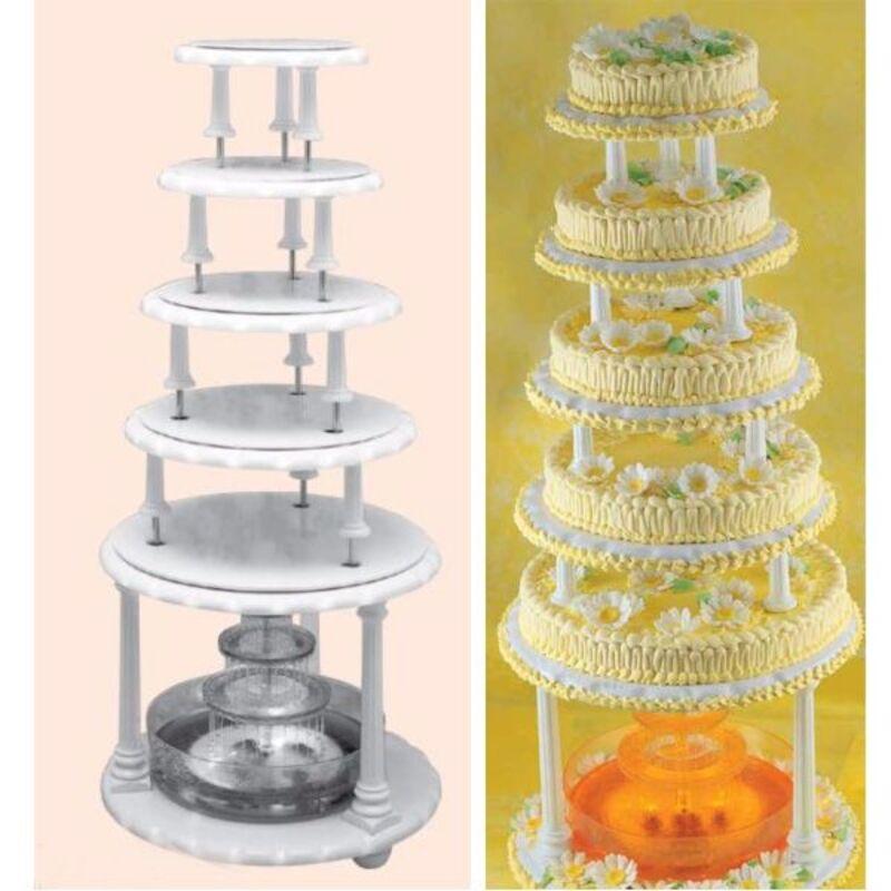 Présentoir 6 plateaux pour fontaine