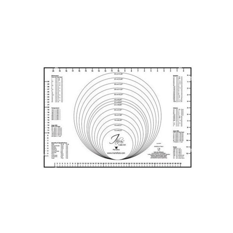 Tapis avec mesures 60 x 40 cm
