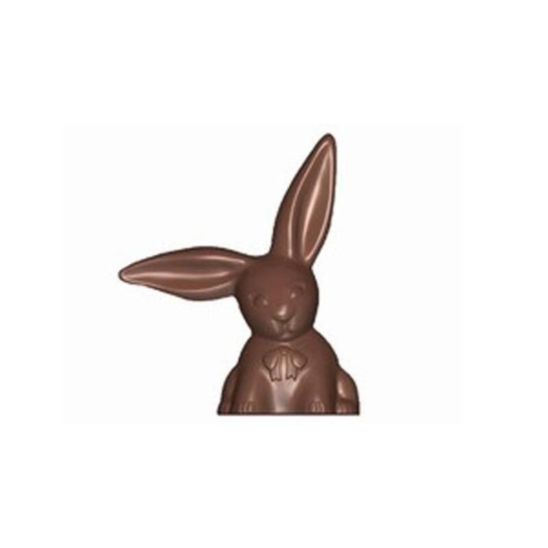 Moule chocolat lapin oreilles