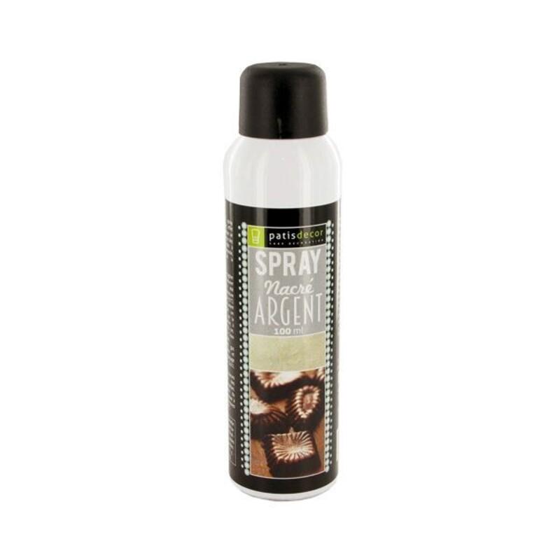 Spray Nacré Argent Patisdécor 100 ml