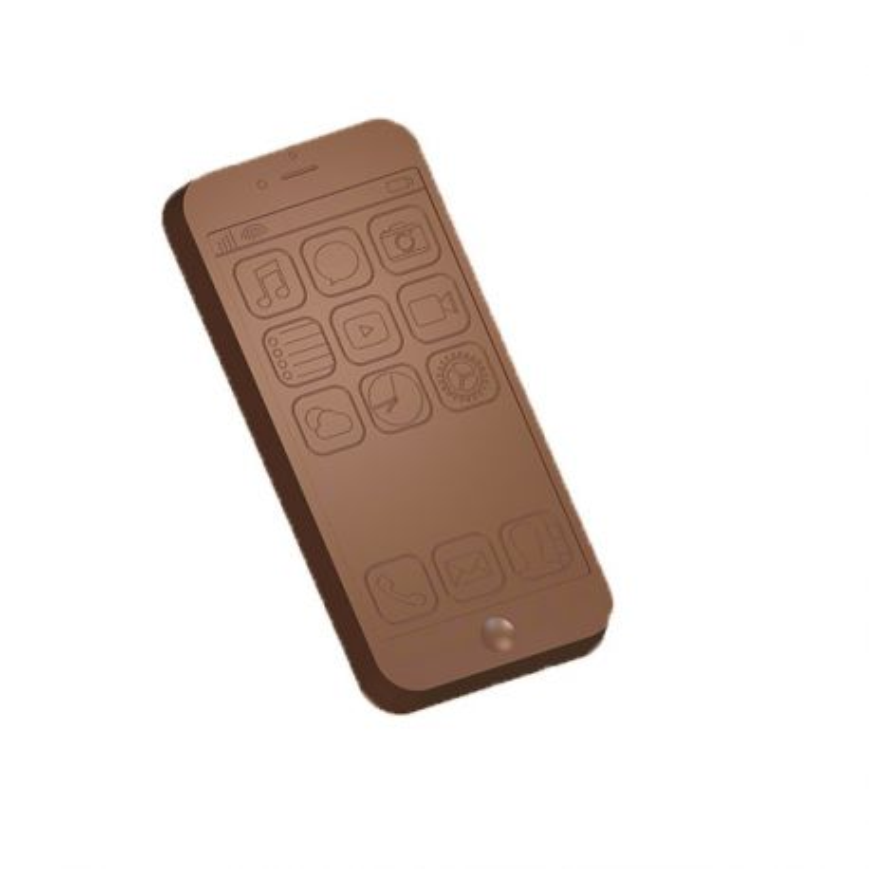 Moule chocolat smartphone