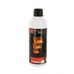Spray colorant effet nacré orange 400 ml