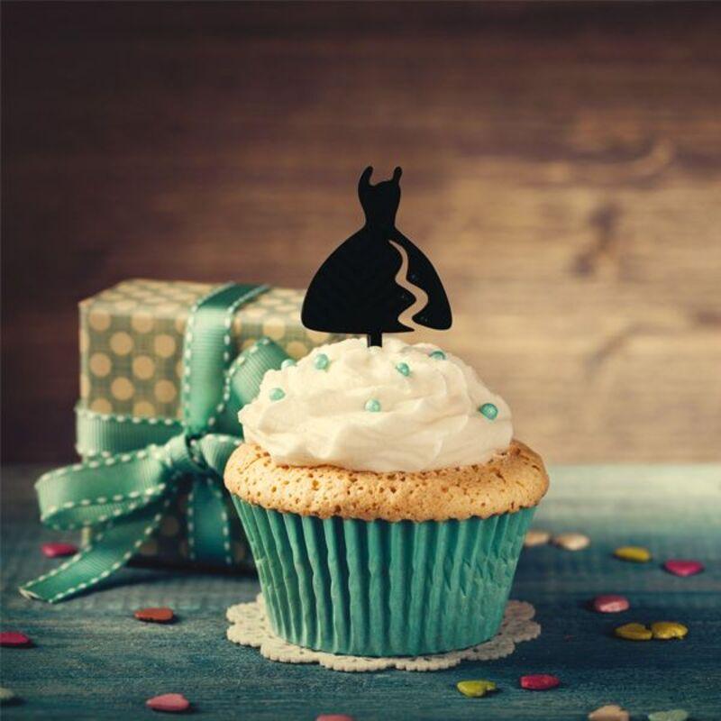 Cake Topper Robe (x8)