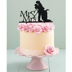 Cake Topper Mr & Mrs (x8)
