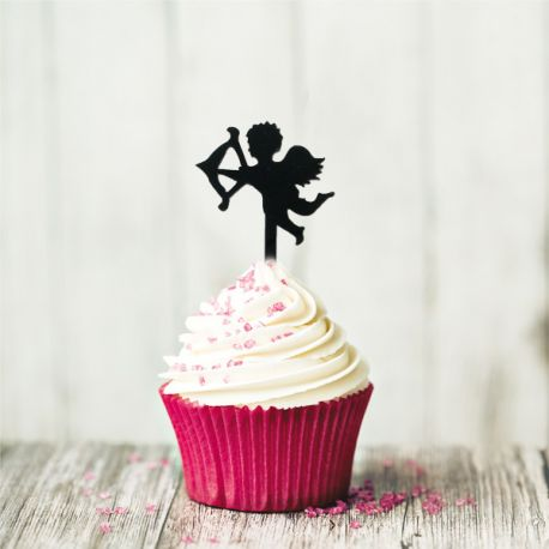 Cake Topper Cupidon (x8)