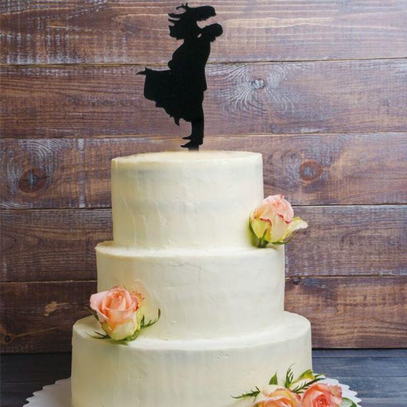 Cake Topper Bonheur
