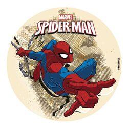 Disque gâteau Spiderman 16 cm