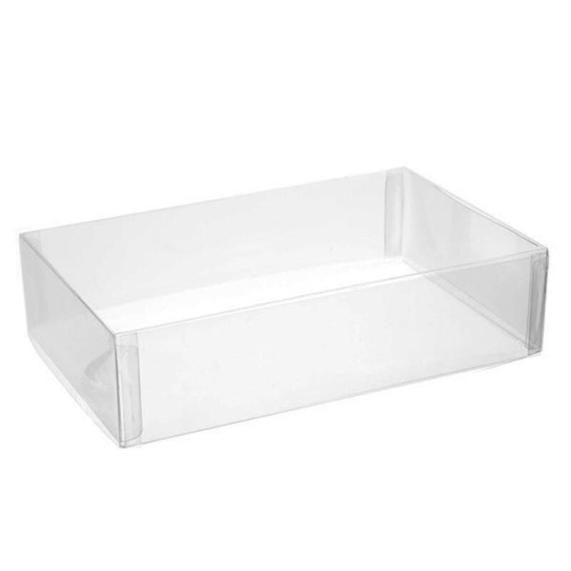 Boîte transparente rectangle 18 x 11 x 4,5 cm (x5)