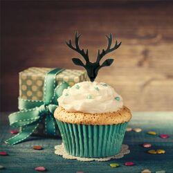 Cake Topper Cerfs (x8)