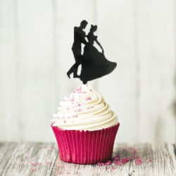 Cupcake Toppers Valse (x8)