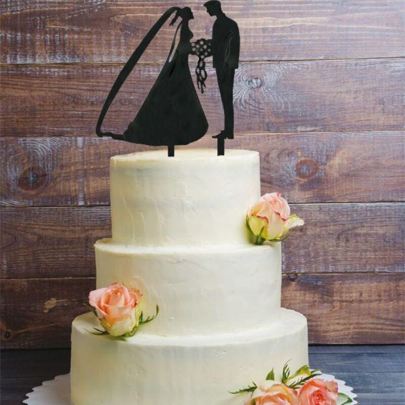 Cake Topper Couple de marié