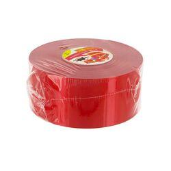 Ruban charlotte rouge 45 mm (50 m)