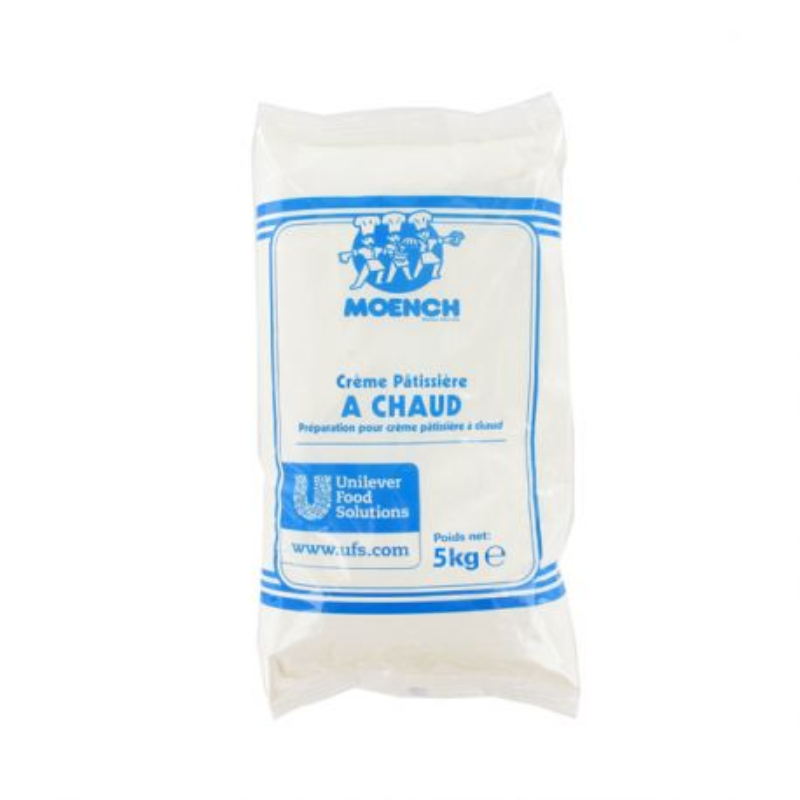 Préparation crème pâtissière à chaud Moench 5 Kg